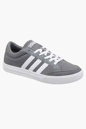 ADIDAS Mens Canvas Lace Up Sport Shoes  ... - 202177579