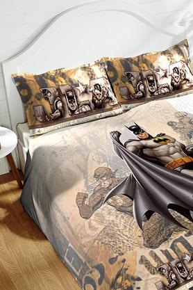 Cotton King XL Digital Printed Bedsheet With Pillow Cover