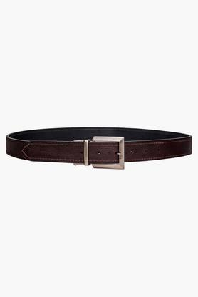 HIDESIGN Mens Leather Reversible Casual Belt
