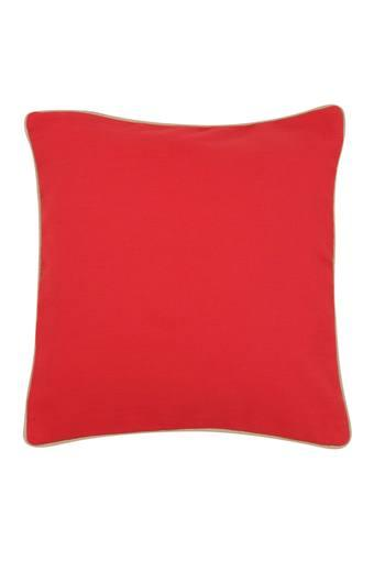 IVY -  Maroon Cushion Cover - Main