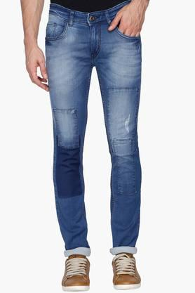 RS BY ROCKY STAR Mens Patchwork Jeans