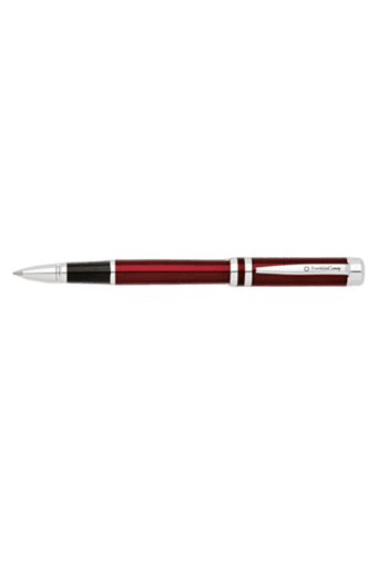 Freemont Rolling Ball Pen by FranklinCovey - Red Lacquer/Chrome