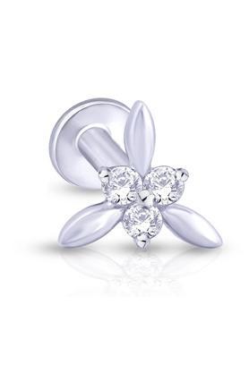 MALABAR GOLD AND DIAMONDSWomens Mine Diamond Nosepin NP51285