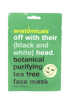 ANATOMICALS Tea Tree Botanical Cloth Face Mask