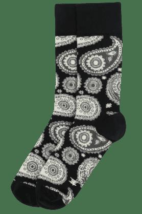 HAPPY SOCKSMens Cotton Printed Socks