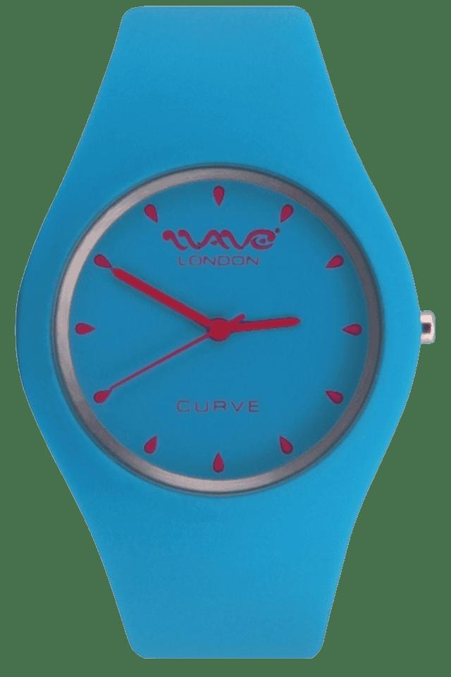 Curve Range Cyan & Pink Ladies Watch