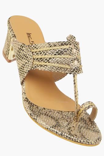 fe7c7cdc50 Womens Casual Wear Slip On Heel Sandals