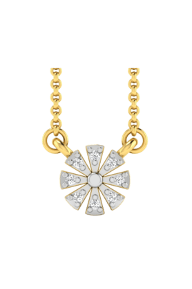 SPARKLESHis & Her Collection 18 Kt Pendant In Gold & Real Diamond HHP9780