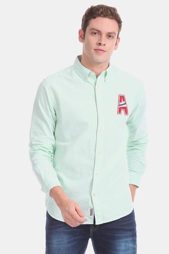 AEROPOSTALE -  GreenCasual Shirts - Main