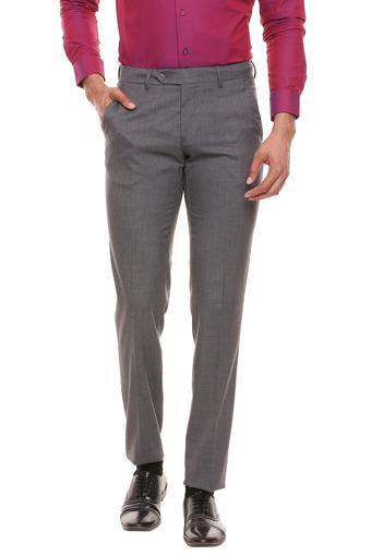 VAN HEUSEN -  Light GreyFormal Trousers - Main