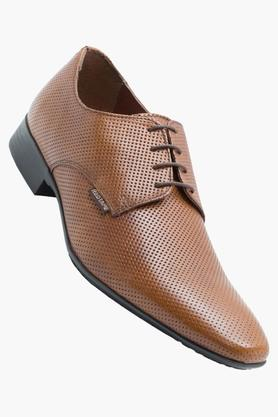 RED TAPE Mens Leather Lace Up Derbys - 202628215