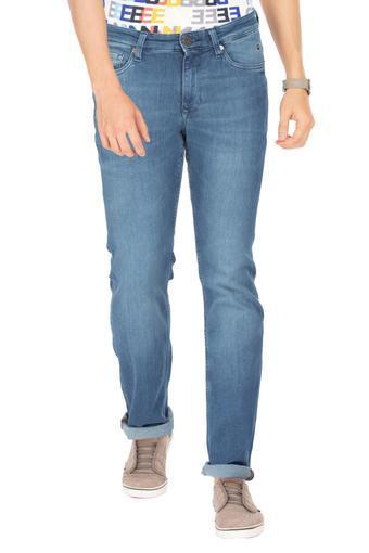 LOUIS PHILIPPE JEANS -  Mid BlueJeans - Main
