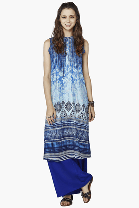 GLOBAL DESI Womens Printed Kurta - 201116313