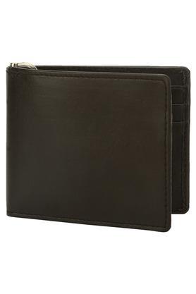 Mens Leather 1 Fold Money-Clip