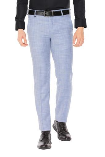 VAN HEUSEN -  Light Blue Formal Trousers - Main