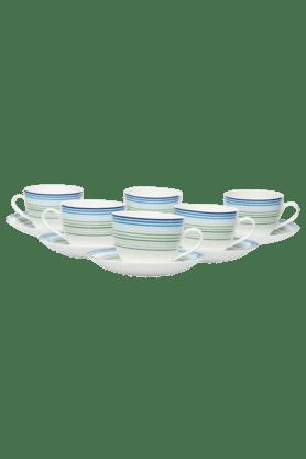 Rainbow Cup & Saucer (Set Of 12)