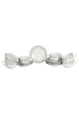 IVY Multi Prism Cup & Saucer (Set Of 12)