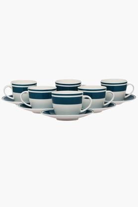 IVY Cup And Saucer Set - Moda Olive (Set Of 12)