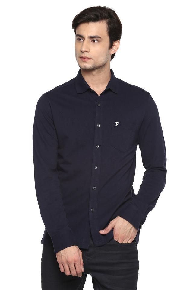 FCUK - BlueCasual Shirts - Main