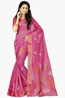 DEMARCAWomens Silk Designer Saree - 202338131