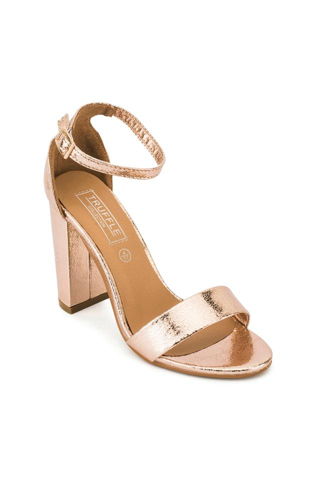 TRUFFLE COLLECTION - Rose GoldHeels - Main