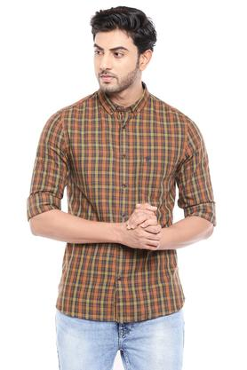 FCUK - Brown Casual Shirts - Main