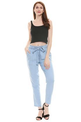 KRAUS - Mid BlueTrousers & Pants - 3