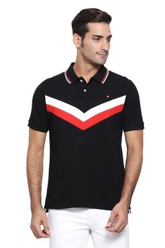 SWISS MILITARY -  BlackT-Shirts & Polos - Main