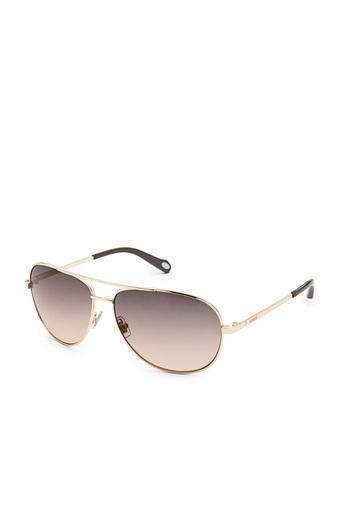 Unisex Full Rim Navigator Sunglasses - FOS3010SAU2WC