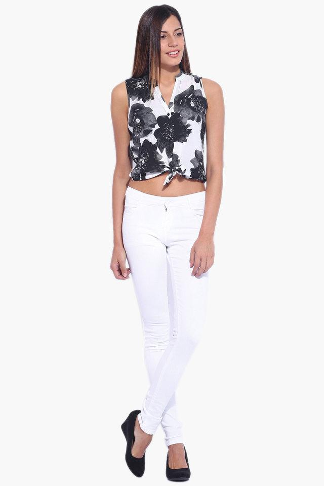 Womens Casual Basic Jeans