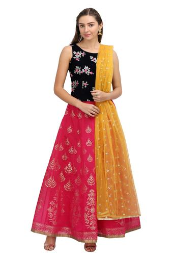 KASHISH -  Red Lehenga Cholis - Main