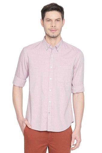 BASICS -  RedCasual Shirts - Main