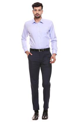 RAYMOND - Mid BlueFormal Shirts - 3