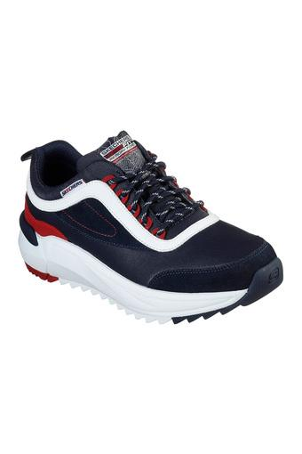 SKECHERS -  Navy Sports Shoes - Main