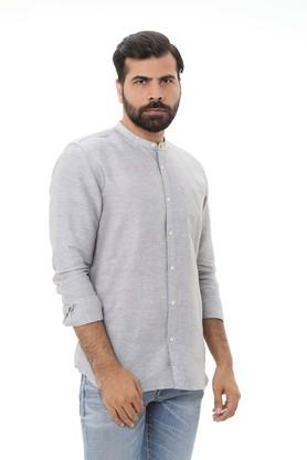 LIFE - Grey Casual Shirts - 5
