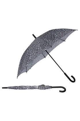 Umbrella - Long Ac Leopar Silve