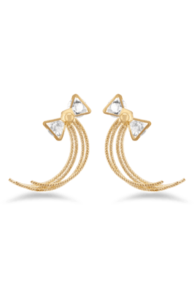 JAZZ Fancy Style & Gold Plated With AD Stone Earring For Women