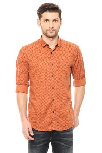 LOUIS PHILIPPE SPORTS -  OrangeCasual Shirts - Main