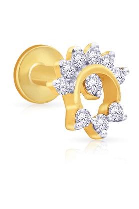 MALABAR GOLD AND DIAMONDSWomens Mine Diamond Nosepin - 201594461