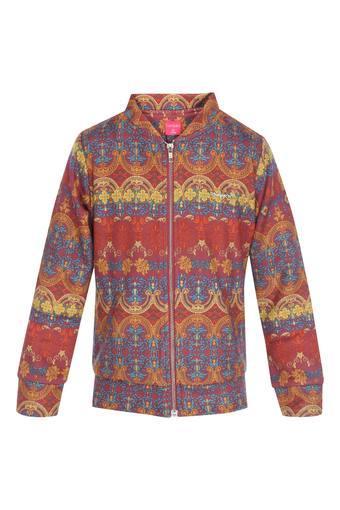 TINY GIRL -  MaroonWinterwear - Main