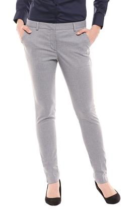 PARK AVENUE - Dark GreyTrousers & Pants - Main