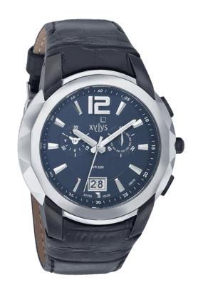 Mens Black Dial Watch NE9431KL01