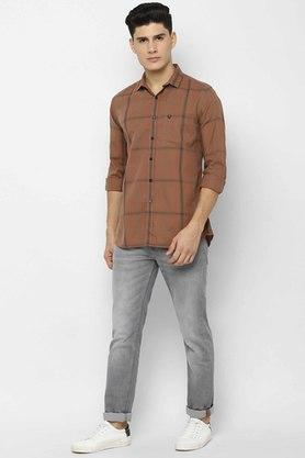 ALLEN SOLLY - KhakiCasual Shirts - 3