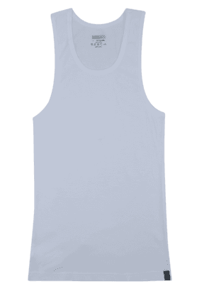 UNDERCOLORS Mens Stretch Solid Round Neck Vest