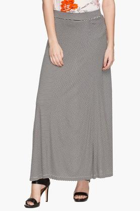 STOP Womens Stripe Long Skirt
