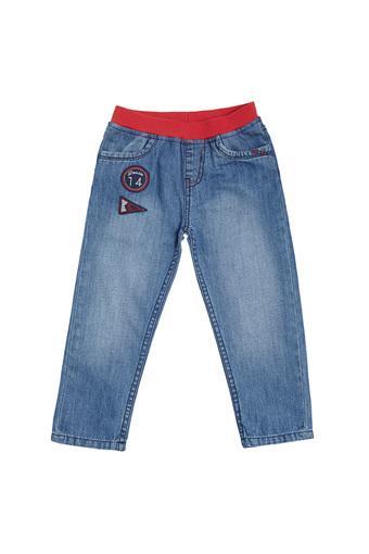 TALES & STORIES -  Blue DenimBottomwear - Main
