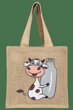 BACK TO EARTHCow Print Milk Bag