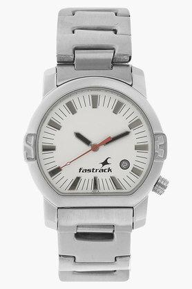 FASTRACK Mens Tees White Dial Analog Watch