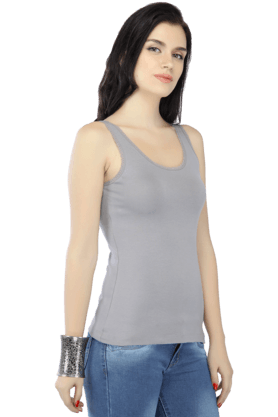 Womens Round Neck Tank Top