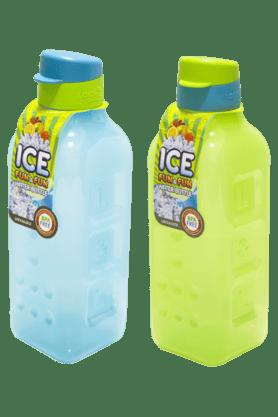 LOCK & LOCKIce Fun And Fun Fridge Bottle - 1 Litre (Set Of 2)